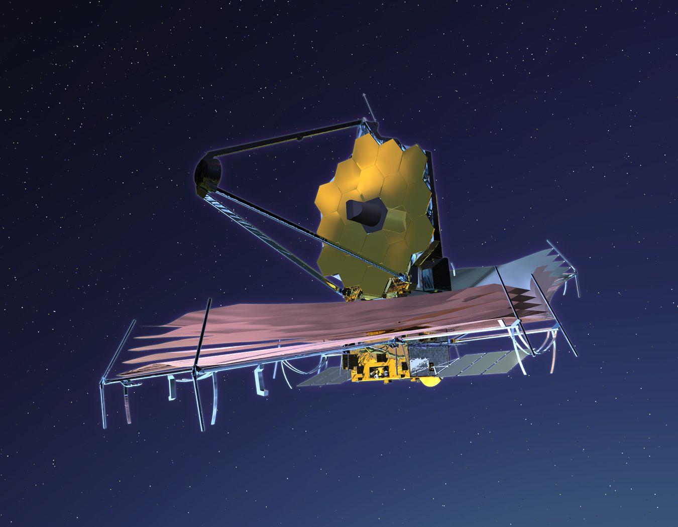 🌙 El Telescopio James Webb, subsituirá al veterano telescopio Hubble