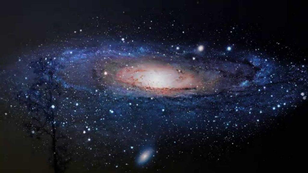 galaxia descubierta por el hubble