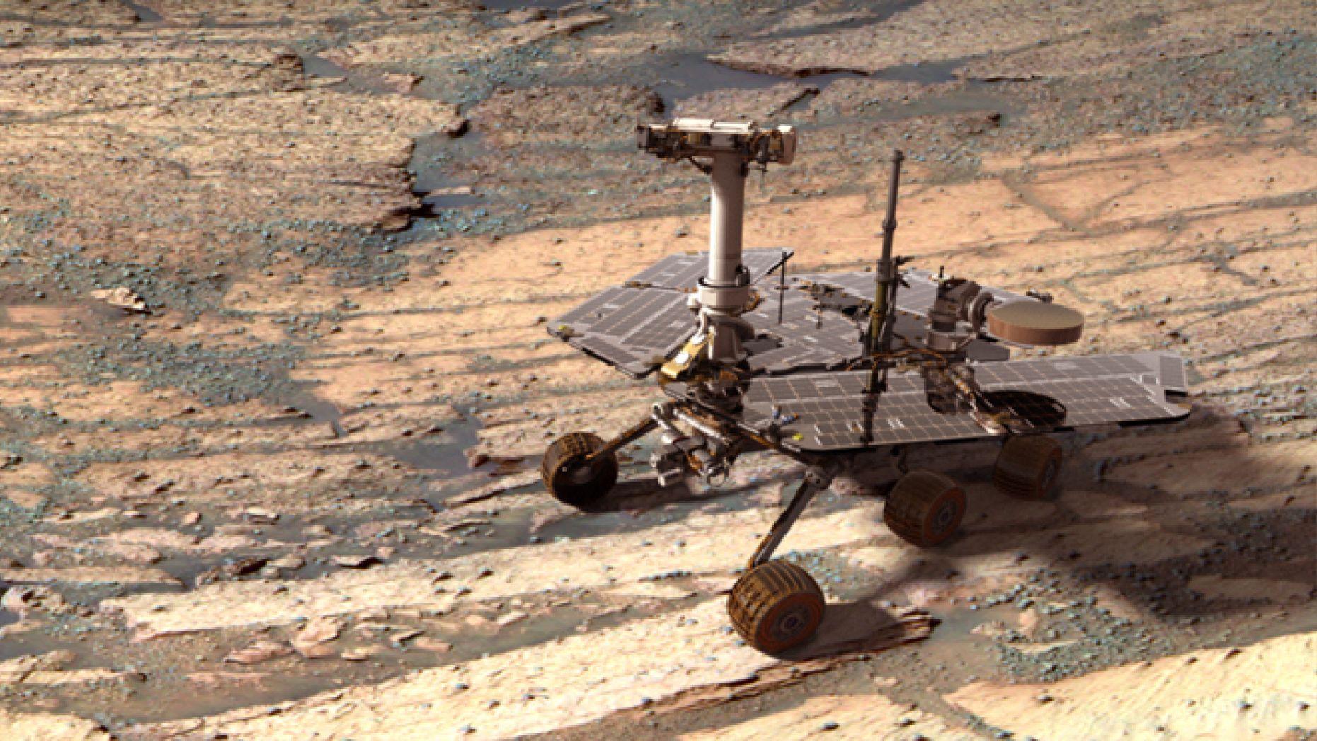 Últimas Noticias del Rover de la Nasa Opportunity