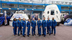 astronautas NASA
