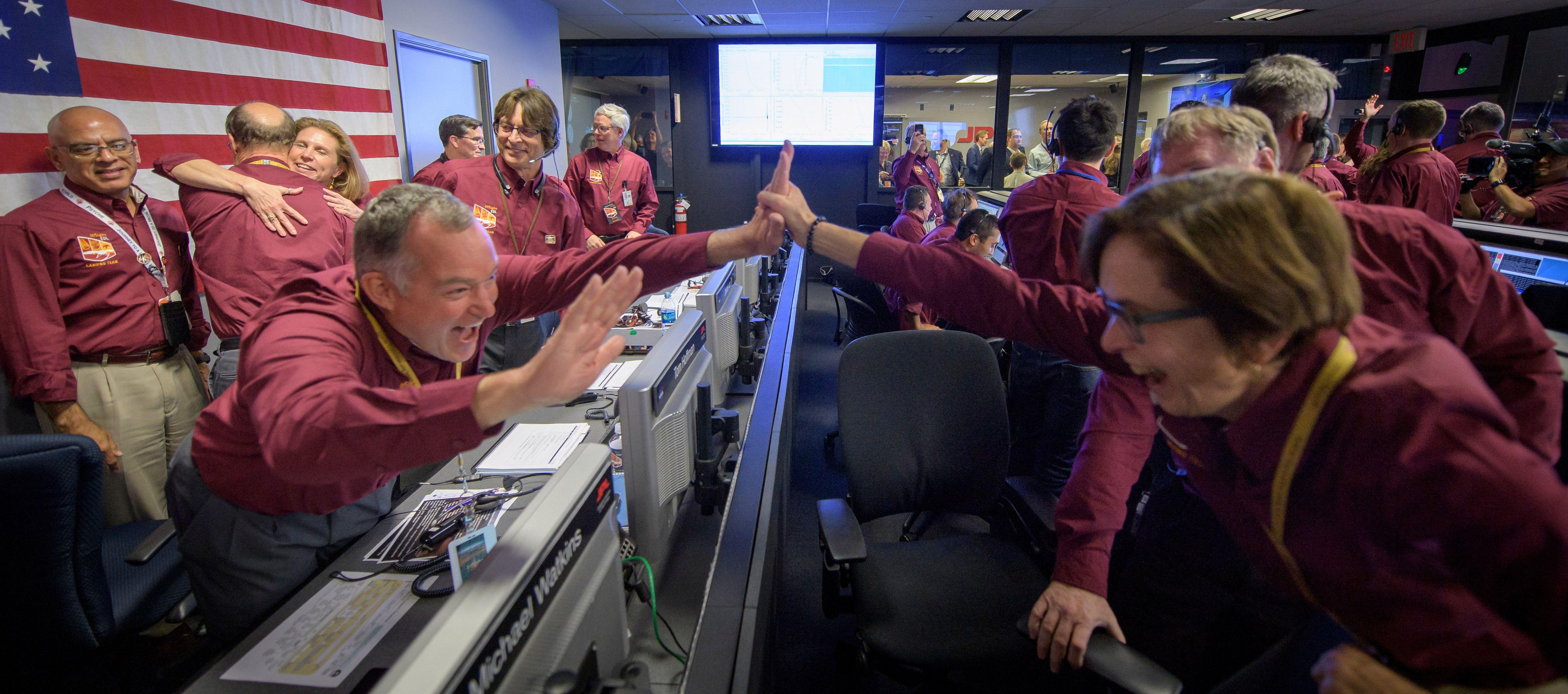 🚀 La Sonda Espacial Mars Insigth, ha llegado a Marte