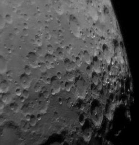 la luna con celestron advanced VX 8