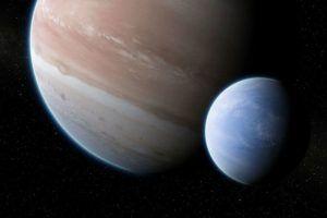 Luna de exoplaneta orbita
