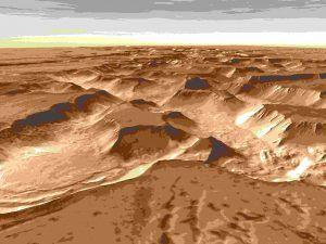 Los ríos en Marte