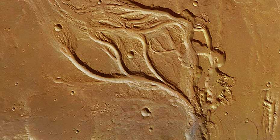 Rios en Marte