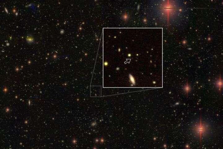 cuasares astronomia
