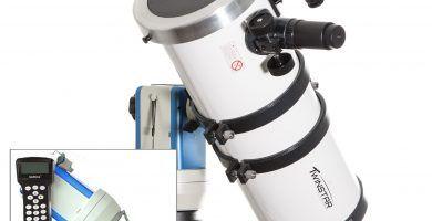 como conectar telescopio a computadora
