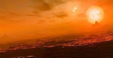 exoplaneta con 3 soles