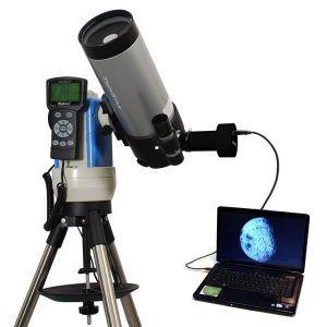 telescopio conectado a ordenador