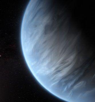 vapor de agua en exoplaneta K2 18b