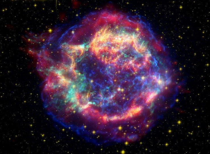 explosión nuclear de rayos x