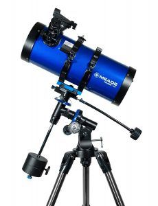 Telescopio reflector Meade Polaris 216005 azul