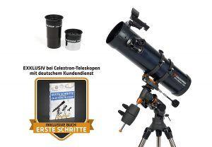 telescopio Reflector Celestron Astromaster 130EQ