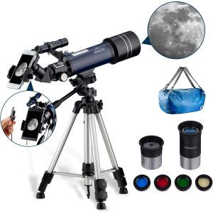 telescopio refractor maxplater 400-700 mm