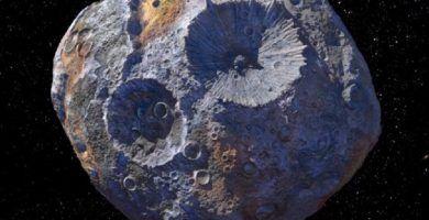 psyche 16 Asteroide de metal