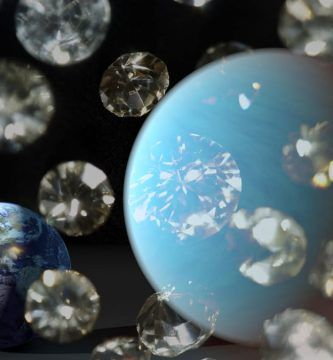 Descubierto una diamante en el espacio del tamaño de la luna