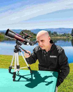 Observacion con telescopio Orion Goscope III
